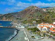 Ribeira Brava district view