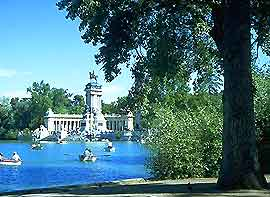 Photograph of Retiro Park