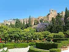 View of Malaga's La Alcazaba