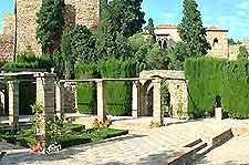 Grounds of Malaga's La Alcazaba photo