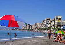 Beaches and hotels of Malaga picture
