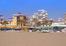 Beachfront hotels in Malaga image