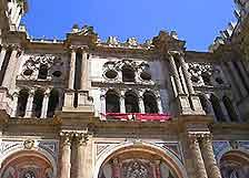 View of La Catedral, Malaga