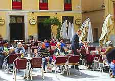 Picture of Malaga al fresco dining area