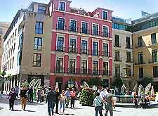 Photo of Malaga public square popular for al fresco dining