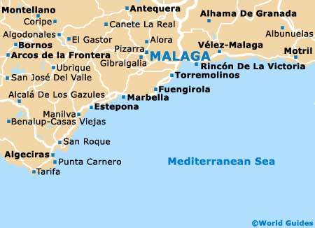 Malaga Travel Guide and Tourist Information Malaga Costa del Sol