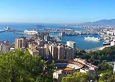 Skyline photo of Malaga
