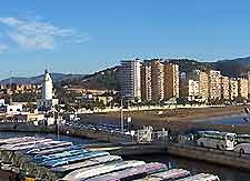 Photo showing forms of travel in Malaga