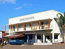 Picture showing the Kiboko Town Hotel in Lilongwe