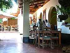 Picture of restaurant at the Kiboko Town Hotel, in Lilongwe's Old Town