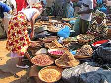 Picture of local market at Lilongwe