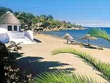 Photo of lodging fronting Senga Bay
