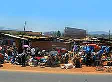 Further view of roadside market