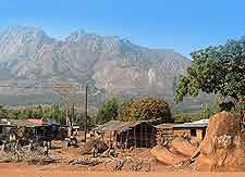Mount Mulanje view