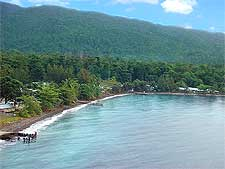 Picture showing the Halmahera Island, taken by Eustaquio Santimano