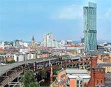 Further city view of Manchester