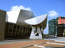 Picture showing the Lowry Art Gallery