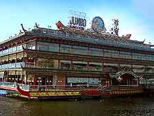 Photo of the city's floating Jumbo Restaurant