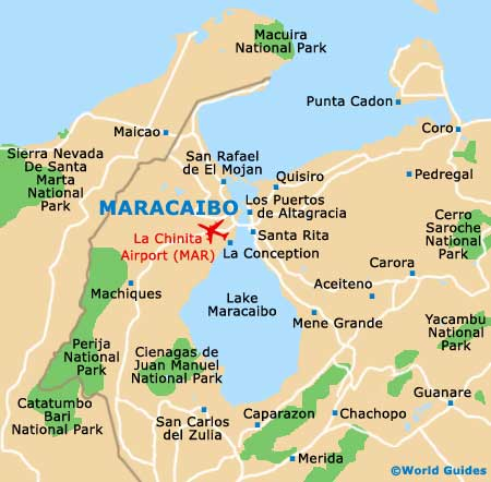 Small Maracaibo Map