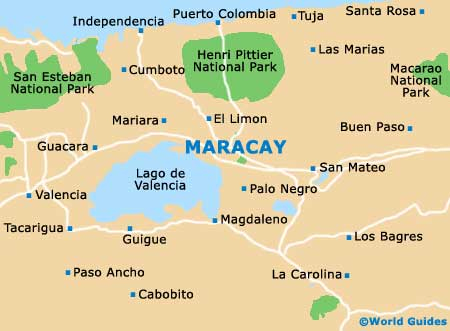 Small Maracay Map