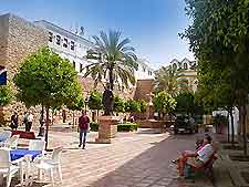 View of a Marbella plaza