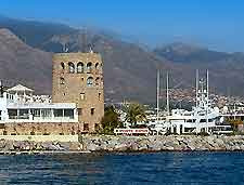 View of the Puerto Banus, Marbella