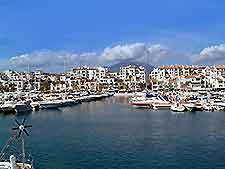 Image of Marbella harbour port