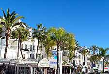 Shopping centre of Marbella picture