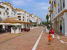 Shopping streets of Marbella photo