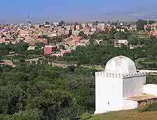 Amizmiz aerial picture