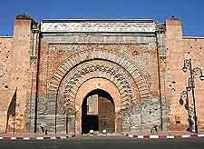 Bab Agnaou picture (Gate of the Gnaoua)