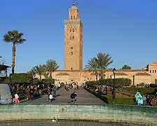 Different view of the Koutoubia Mosque