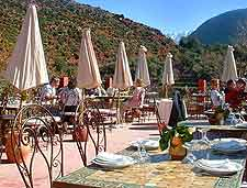Image of restaurant at the Ourika Valley / Setti Fatma