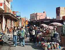 Further picture of central souk marketplace