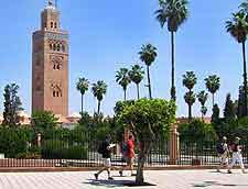Picture of the Koutoubia Mosque