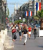 Photo of La Canebiere street