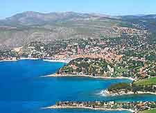 Picture of the Cassis coastline