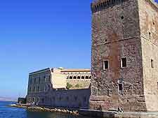 Photo of coastal landmark