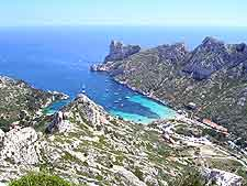 Photo of nearby Calanque