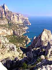 Further picture of the Calanque rock formation