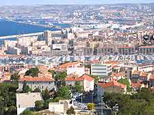 Another view over the city of Marseille