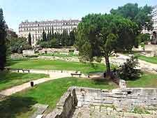 Picture of the Jardin des Vestiges (Garden of Ruins)