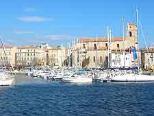 Image of harbour at La Ciotat
