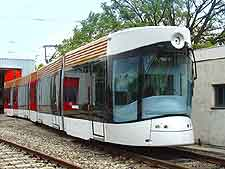 Image of city tram