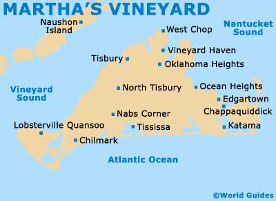 Small Martha's Vineyard Map