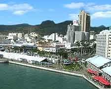 Scenic waterfront view, photo of Port Louis