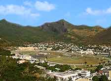 View of Port Louis from the citadel