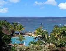 Scenic coastal panorama