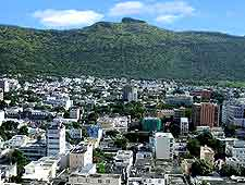 Scenic photo showing the Port Louis cityscape