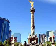 Mexico city landmarks and monuments mexico city federal district further picture of the angel of independence sciox Gallery